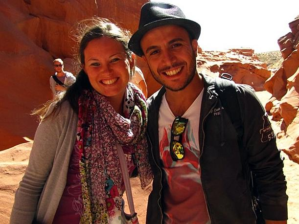 Mariluisa and Andrea Caricchia traveled 6,000 miles from Italy to spend their honeymoon at the Grand Canyon. Instead, they are exploring tribal land.