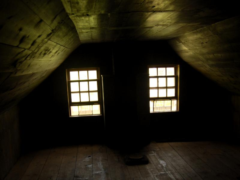 Picture of an old attic