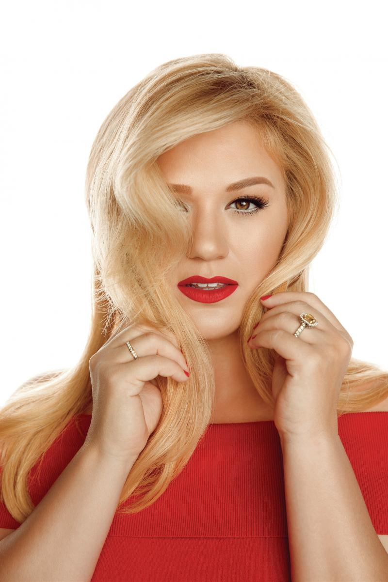 Kelly Clarkson's new holiday album is titled Wrapped in Red.