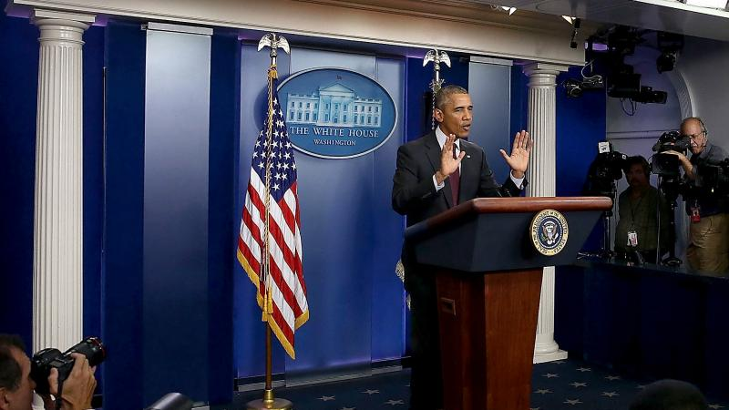 """It can not be this easy for somebody who wants to inflict harm on other people to get his or her hands on a gun,"" President Obama said Thursday."