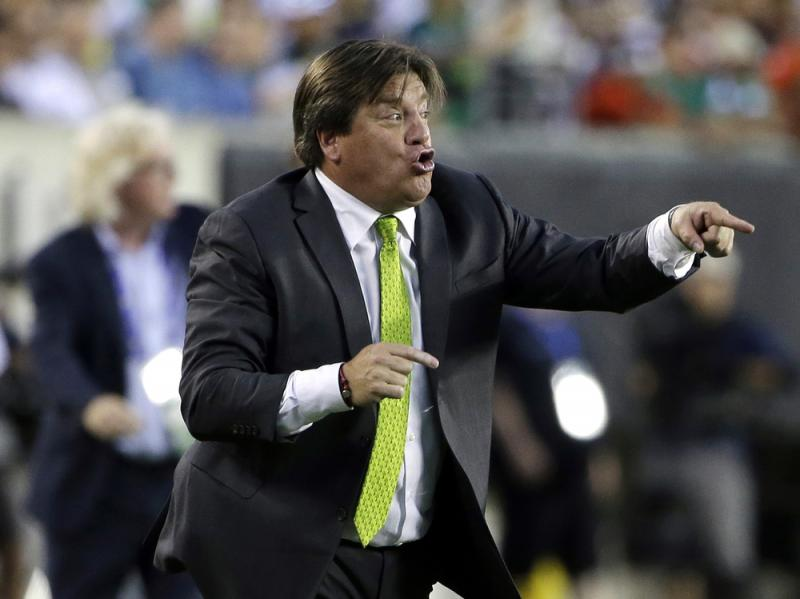 The Guardian describes Mexico's fired coach, Miguel Herrera, as