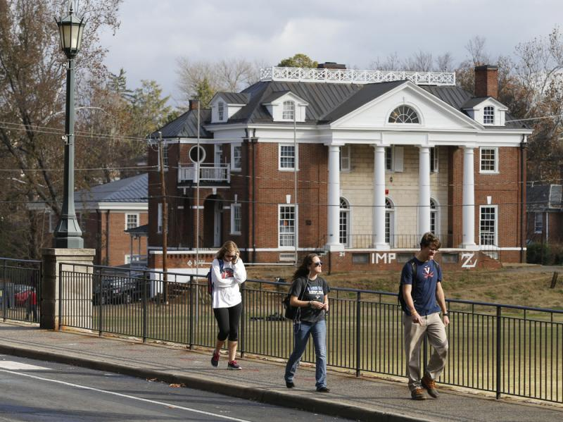 The Phi Kappa Psi fraternity house at the University of Virginia in Charlottesville, Va. That fraternity was implicated in a now discredited Rolling Stone story about a rape on campus. A dean named in the piece is suing the magazine for $7.85 million. Phi