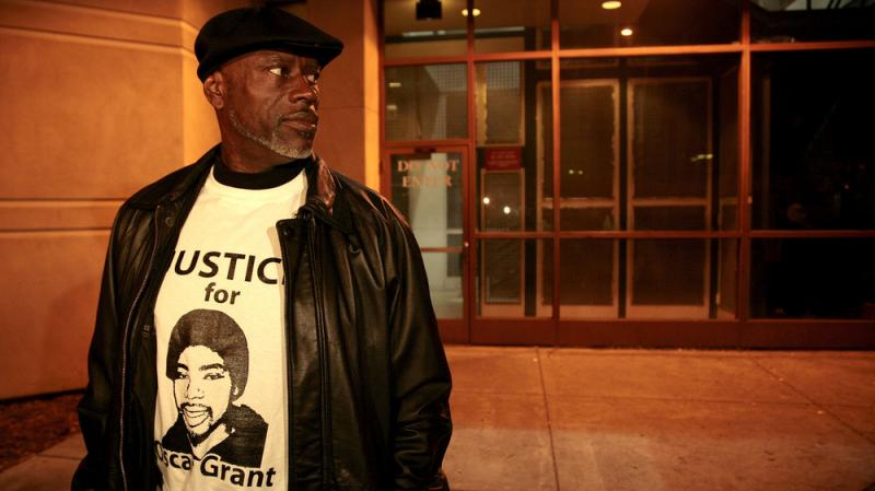 """Cephus """"Bobby"""" Johnson in 2011, when the former transit officer who shot Johnson's nephew, Oscar Grant, was released from jail. Johnson and other family members have seen Fruitvale Station, a new feature film depicting the shooting, multiple times."""
