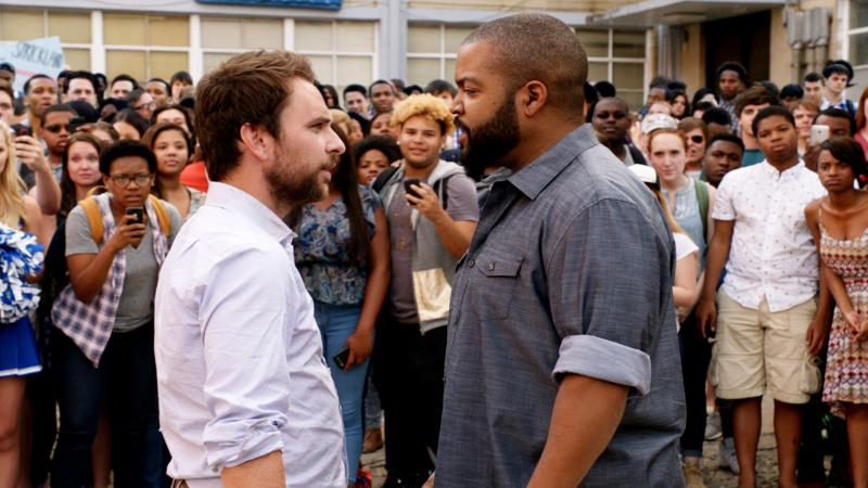 Someone's About to Get Schooled: Charlie Day and Ice Cube in Fist Fight.
