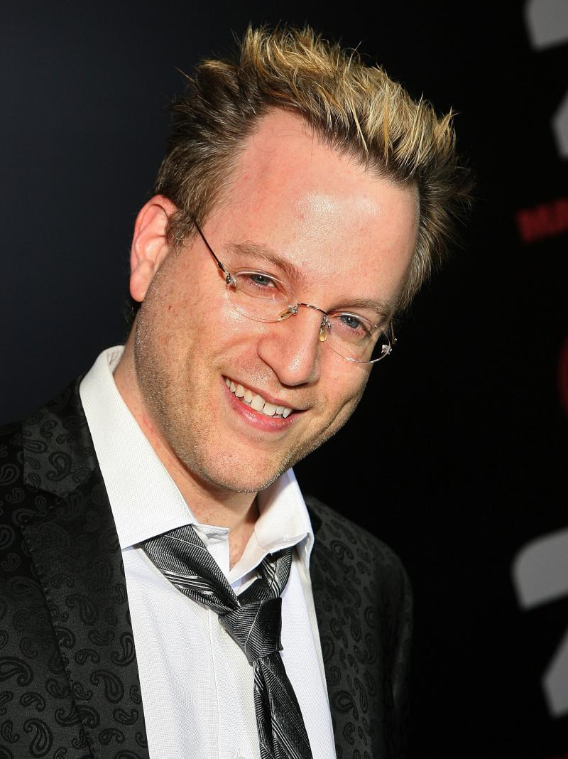 Ben Mezrich at the premiere of 21, the film adaptation of Bringing Down the House.