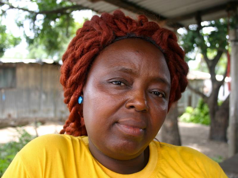 """Caroline Williams is a community organizer in New Kru Town, a suburb of Monrovia. Here's how she got her message through to Liberians about preventing Ebola: """"We talk to them, talk to them, talk to them. At last they started listening to us. All the metho"""