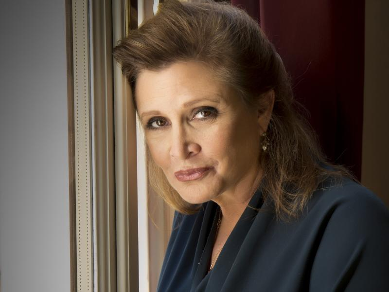 Carrie Fisher further explains her affair with Harrison Ford