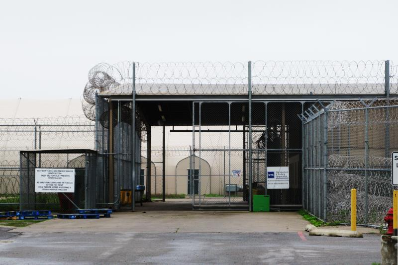 A riot late last month forced officials to close the Willacy County Correcitonal Center in Wallcy County, Texas.