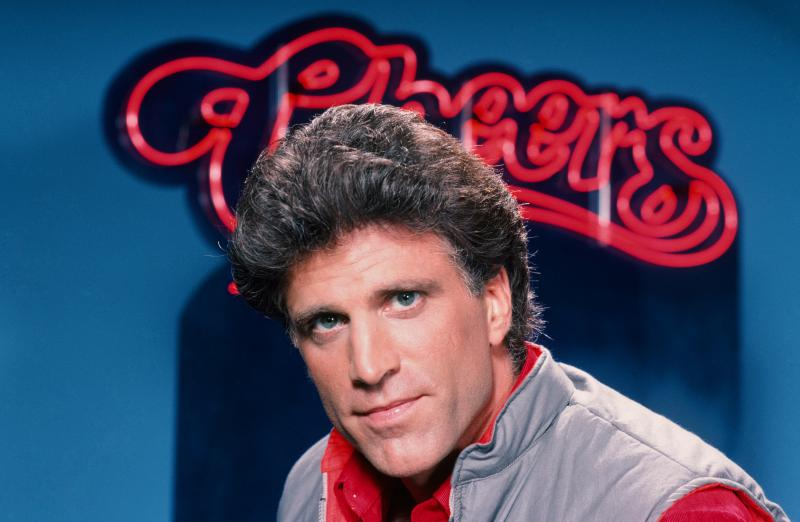 "Danson starred in Cheers as bar owner Sam Malone. ""Cheers was like being shot out of a cannon as far as celebrity, or attention from the public,"" he says."