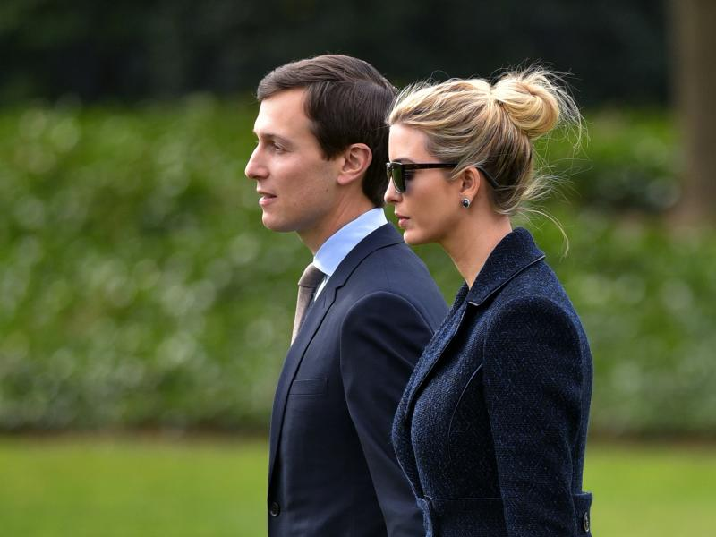 £590m puts Ivanka and Jared at top of White House rich list