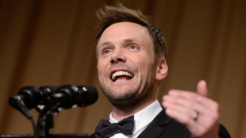 Comedian Joel McHale spoke at the annual White House Correspondents' Association dinner in May. He says everyone wanted to see his jokes ahead of time, but he likes keeping them a secret.