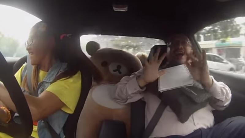 Malaysian pro driver Leona Chin took several driving instructors for a spin for their first day on the job.