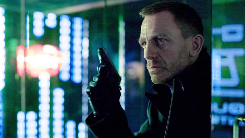 Daniel Craig as James Bond in Skyfall. Chinese censors cut a scene from the movie that they thought made China look weak. Because China is such a huge market, some U.S. moviemakers may choose to avoid portraying China in negative terms.