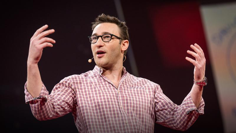 """[Trust is] the willingness to sacrifice for another human being."" — Simon Sinek"
