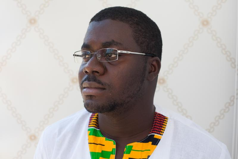 """In three years, entrepreneur Raindolf Owusu, 24, has started a company, launched Africa's """"first browser"""" and made a slew of health apps."""