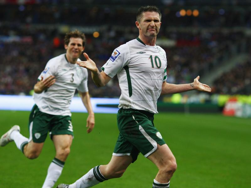 Robbie Keane scored in Ireland's controversial World Cup qualifying match with France on Nov. 18, 2009 — but the country was eliminated by the aggregate score of 2-1. Ireland's soccer association says FIFA paid 5 million euros — $7 million at 2010 exc