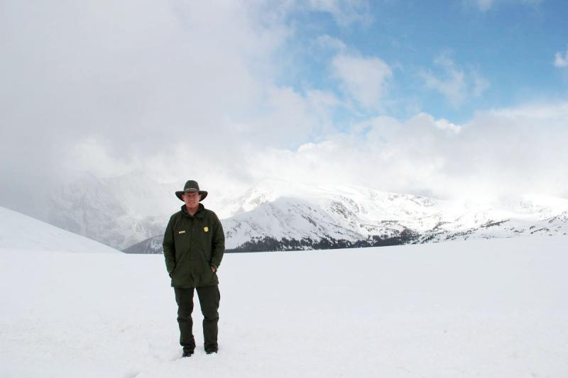 Jim Cheatham, a biologist with the National Park Service, studies the ways nitrogen in the air has been disrupting the ecological balance of Rocky Mountain National Park.