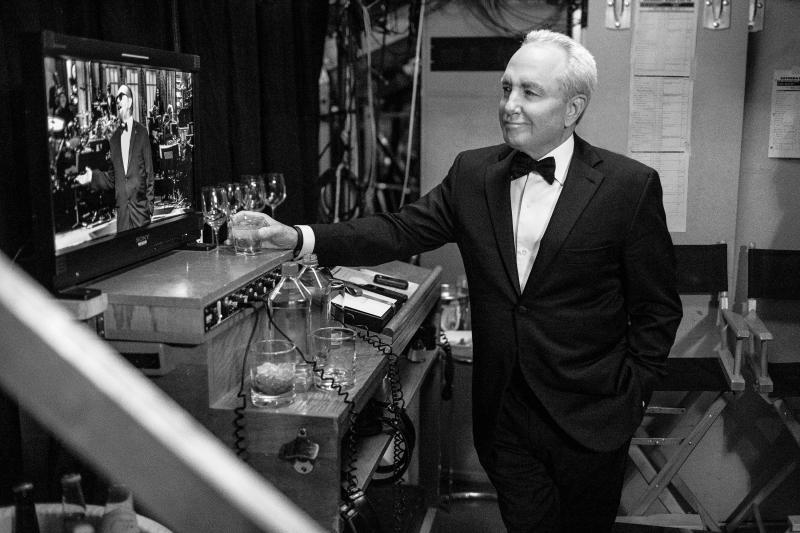 Lorne Michaels backstage at the SNL 40th Anniversary Special at 30 Rockefeller Plaza in New York, NY on February 15, 2015.