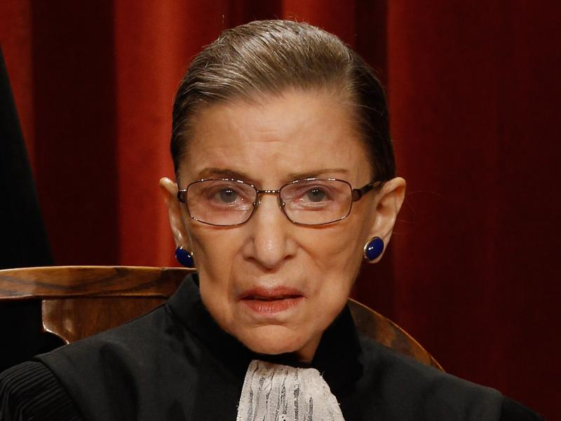 U.S. Supreme Court Associate Justice Ruth Bader Ginsburg