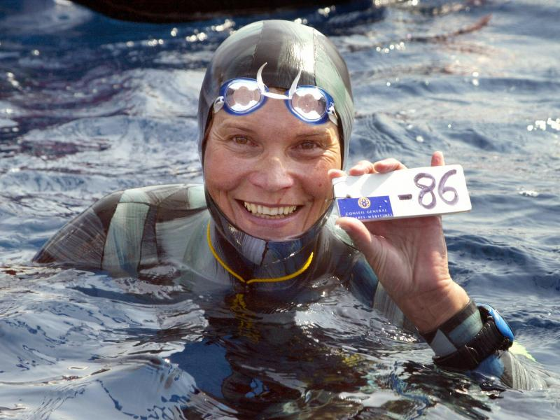 Free diver Natalia Molchanova of Russia has been missing since Aug. 3.