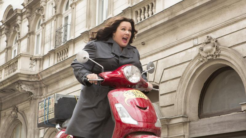 Melissa McCarthy gets a star-vehicle movie of her own in Spy.