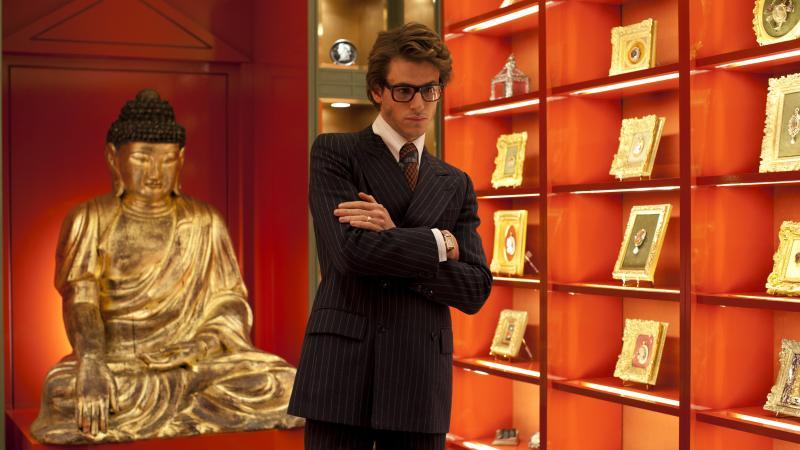 Gaspard Ulliel as Yves Saint Laurent.