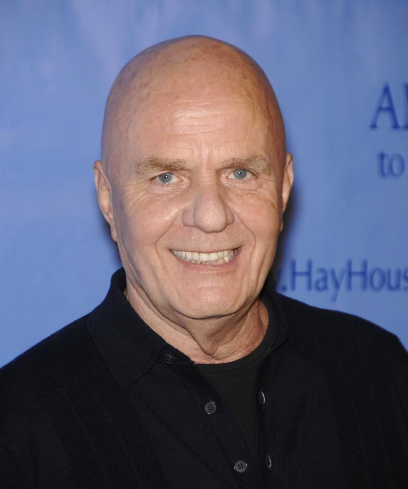 Wayne Dyer attends the premiere of the film Ambition to Meaning: Finding Your Life's Purpose at the Egyptian Theatre in Los Angeles in 20