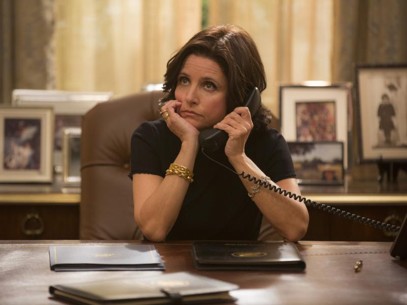 Julia Louis-Dreyfus as Selina Meyer on HBO's Veep.