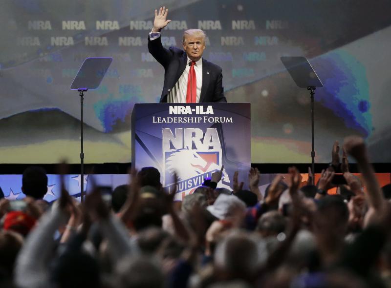 Trump Repeals Rule Designed To Block Gun Sales To Certain