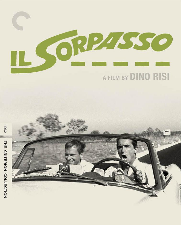 'Il Sorpasso' DVD cover.