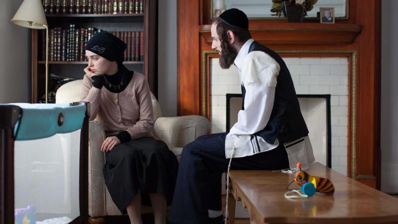 Hadas Yaron and Luzer Twersky in Felix and Meira.
