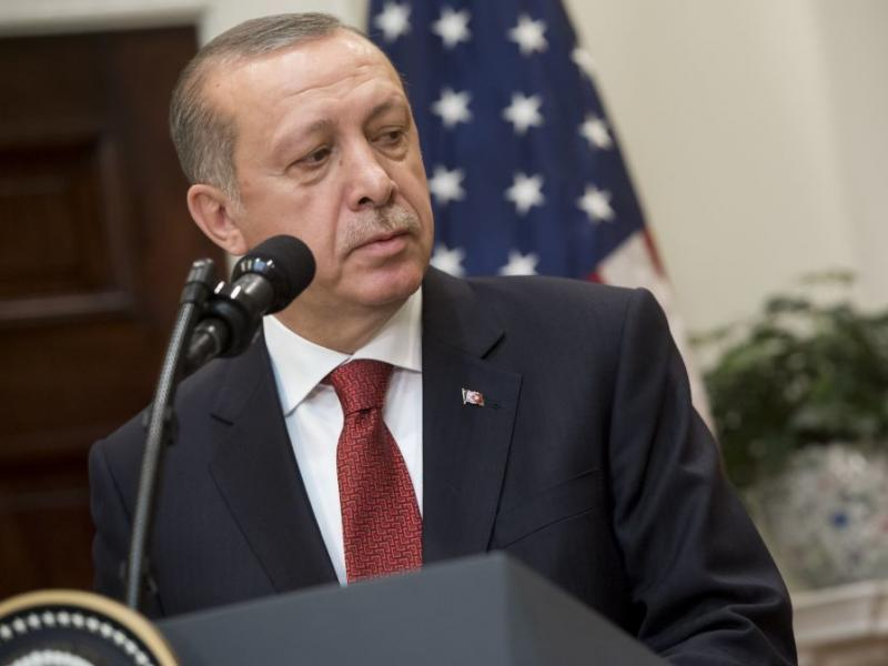 Video Shows Turkish President Erdogan Watching Brutal Fight Outside Embassy In Washington