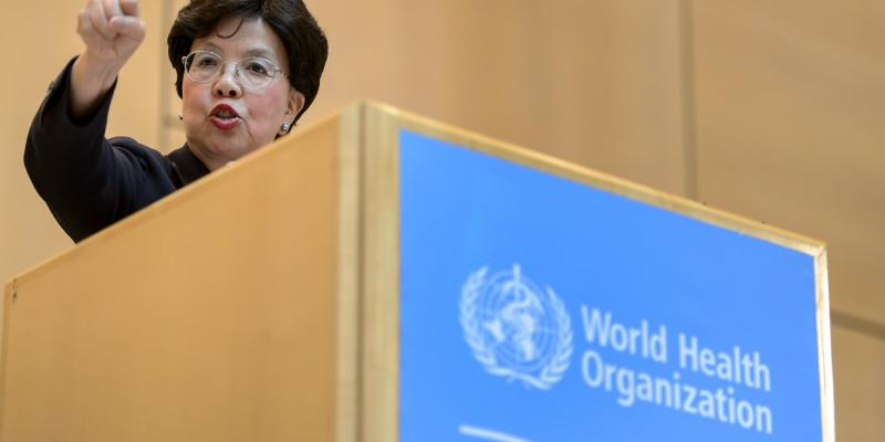 "The Ebola outbreak ""overwhelmed"" the World Health Organization and made it clear the agency must change, WHO's director-general, Dr. Margaret Chan, said Monday in Geneva."
