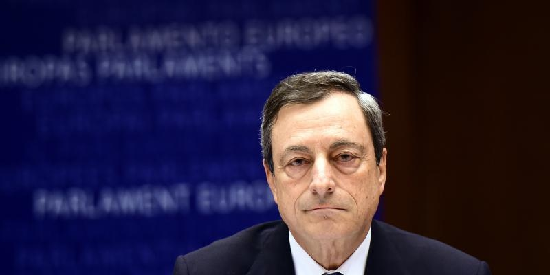 Earlier this year, the European Central Bank, headed by Mario Draghi, launched a bond-buying program to drive down interest rates and boost borrowing.