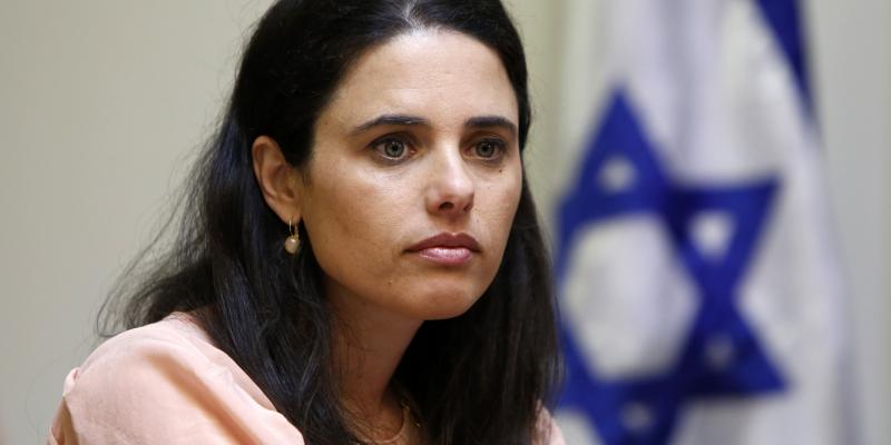 Ayelet Shaked of the right-wing Jewish Home party, shown here on May 6, is Israel's new justice minister. During her two years in parliament, she called for bringing more conservative judges to Israel's highest court.