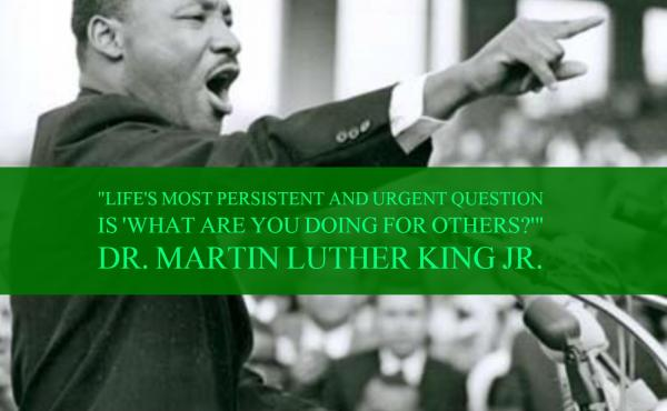 Dr. Martin Luther King Jr.'s quote about service