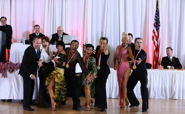 Carolina Fall Classic DanceSport Champions celebrating their National Qualifying Event Victory