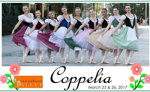 "Greensboro Ballet's ""Coppelia"""