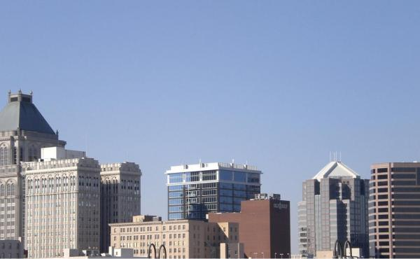 Image of downtown Greensboro skyline