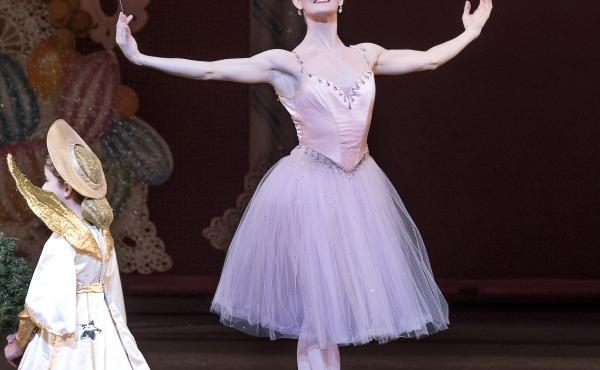 Megan LeCrone as the Sugar Plum Fairy