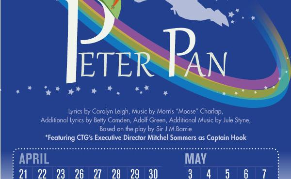 Community Theatre of Greensboro Peter Pan Flyer