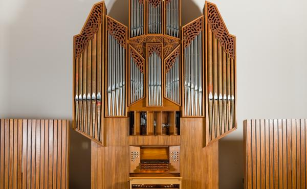 Salem College DA Flentrop Organ - Shirley Recital Hall