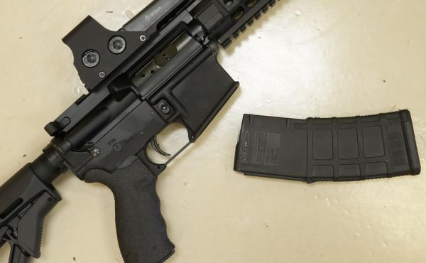 A federal appeals court upheld the core parts of gun control laws in New York and Connecticut that ban semiautomatic weapons and high-capacity magazines.