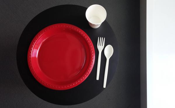 The city of Fort Bragg, Calif., has ordered restaurants to drastically reduce the amount of dishwashing by serving customers with disposable plates, cups and flatware.