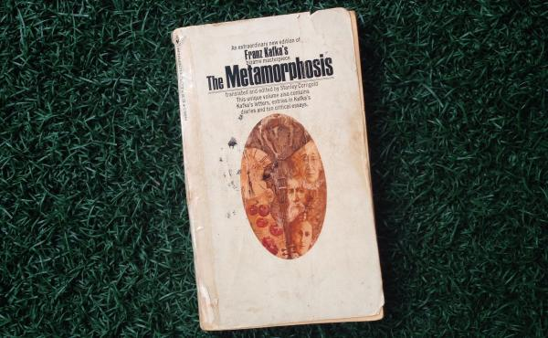 Critic Juan Vidal says this copy of The Metamorphosis, a gift from his uncle, was a life-changing experience.