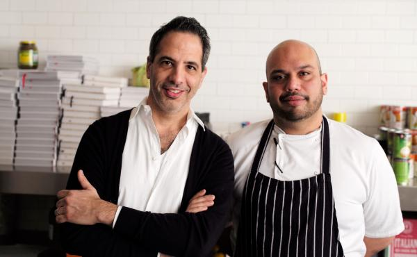 Yotam Ottolenghi and Ramael Scully, who co-authored the NOPI cookbook, out this week.