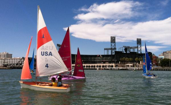 Members of the Bay Area Association of Disabled Sailors sail every weekend near San Francisco's Pier 40. The all-volunteer group serves people with a range of physical, developmental and mental disabilities.