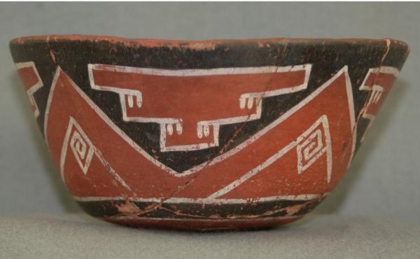 Make mine a venti: An example of a drinking vessel from the Grasshopper Pueblo archaeological site in central Arizona. Researchers tested shards of similar vessels found at various sites in the American Southwest and found evidence that people in the regi