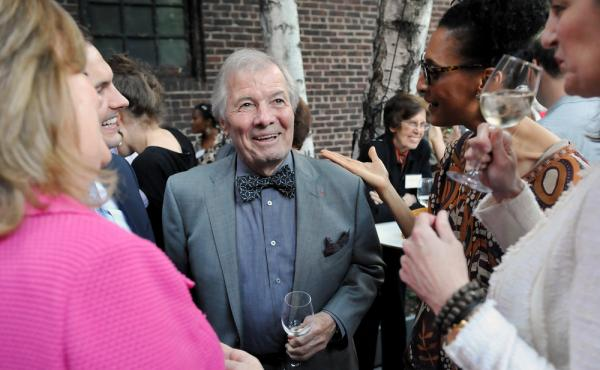 Acclaimed French chef Jacques Pepin (center) has had an extraordinary 60-year career. He says his new cookbook, Jacques Pepin: Heart and Soul in the Kitchen, will be his last. Maybe.