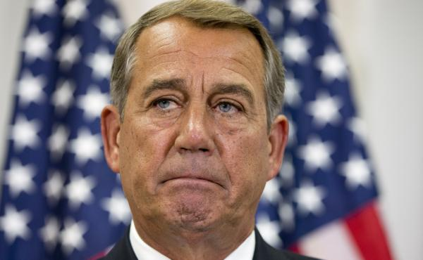 House Speaker John Boehner is yet again facing a backlash from conservatives over his approach in trying to avoid a government shutdown.